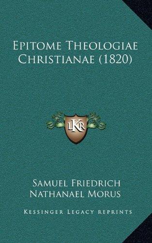Epitome Theologiae Christianae (1820)