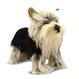 stuffed yorkshire terrier
