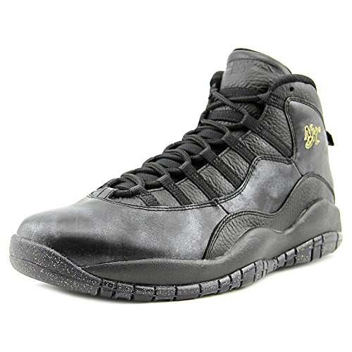 size 40 5ea7c d0470 Nike Jordan Men's Air Jordan Retro 10 Black/Black/Drk - Import It All