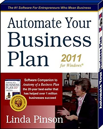 Automate Your Business Plan 2011 for Windows - By Linda Pinson