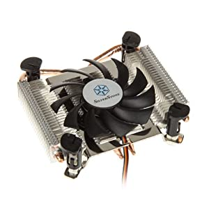 Silverstone SST AR04   Argon SST AR04 (Thin Mini ITX) CPU CoolerCustomer reviews and more information