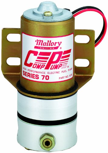 Mallory 4070M High Performance Electric Fuel Pump
