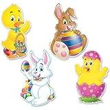 Pkgd Easter Cutouts   (4/Pkg)