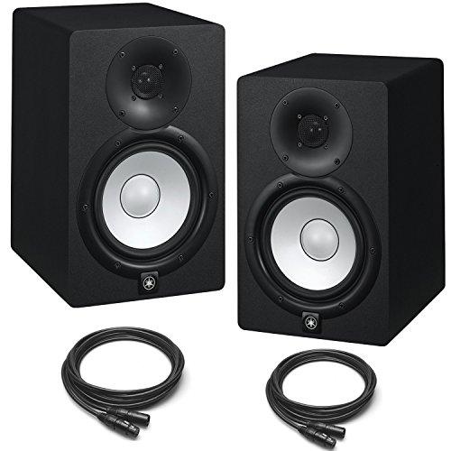 yamaha hs7 powered studio monitors pair black w xlr. Black Bedroom Furniture Sets. Home Design Ideas