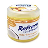 Refresh Your Car 4.5 oz Scented Gel -Pina Colada ~ HandStands