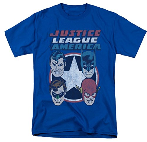 Justice League 4 Stars T-Shirt