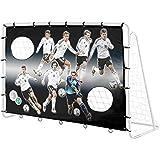 4UniQ´s Offizielles DFB-Lizenzprodukt 7-Wilde Fussballtorwand für 213cm Fußballtore 18765
