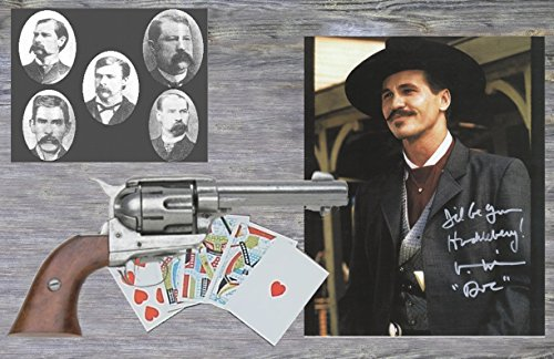 Poster-Print-Tombstone-Doc-Holliday-Photo-Collage-11-X-17-Gunfight-OK-Corral-With-Wyatt-Earp