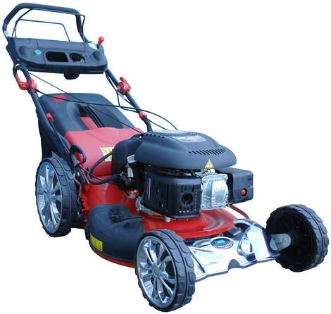 Güde Big Wheeler 512 ES VAR Benzin Rasenmäher 4-Takt (95360) 3.7 PS 140cm³ mit Antrieb 2.2 - 3.4 km/h