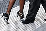 Wallmonkeys WM221971 Tango Shoes Peel and Stick Wall Decals (72 in W x 48 in H)