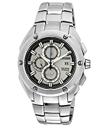 Citizen Eco-Drive Analog Silver Dial Mens Watch - CA0210-51A
