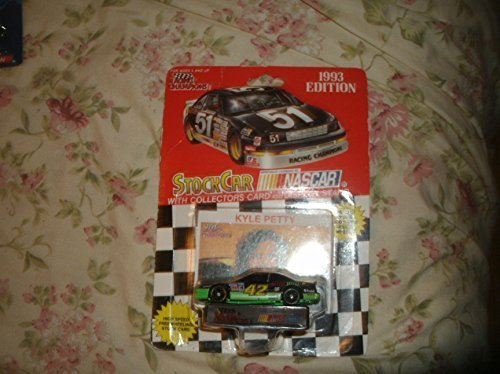 1993-racing-champions-nascar-kyle-petty-42-mello-yello-rare-die-cast-with-collectors-card-display-st