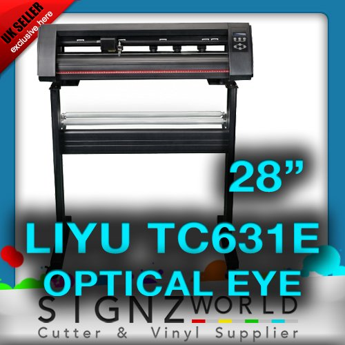 QUALITY TC631E LIYU Vinyl Cutter With Optical Eye 28
