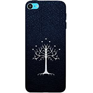 Casotec Magic Tree Pattern Design Hard Back Case Cover for Apple iPod Touch 6th Generation