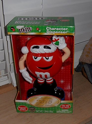 2015 M&m's Red Character Dispenser - Numbered Limited Edition (Numbered Candy compare prices)