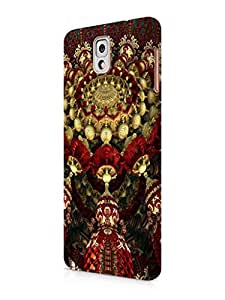 Cover Affair Colorful Abstract Printed Back Cover Case for Samsung Galaxy Note 3