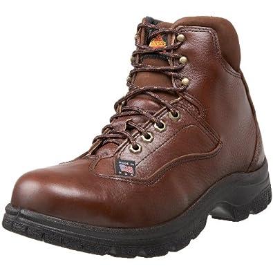 "Thorogood American Heritage 6"" Sport Hiker Safety Toe Boot, Root Beer, 7 M US"