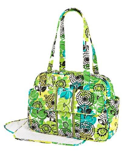 big deal vera bradley baby bag in lime 39 s up backpacklist07. Black Bedroom Furniture Sets. Home Design Ideas