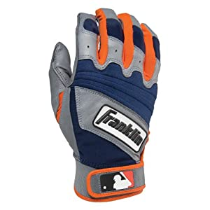 Franklin Sports Adult MLB The Natural II Batting Gloves (Pair) by Franklin