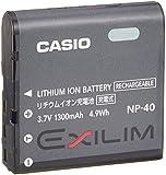 CASIO デジタルカメラ EXILIM用リチウムイオン充電池 NP-40