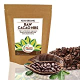 RAW Organic Cacao Nibs | Vegan Dark Chocolate Baking Ingredient | #1 Best Magnesium Rich Superfood | Unsweetened | Versatile | Ideal for Power Smoothies & Protein Energy Bars | 200g | by Nutri Superfoods