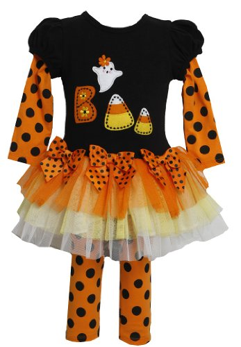Bonnie Baby Baby-Girls Infant Candy Corn Applique Legging Set