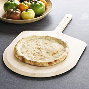 Kitchen Supply Aluminum Pizza Peels with Wood Handle