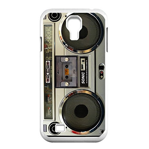 Nostalgic Boombox Vintage Hd Phone Case For Samsung S4 I9500 Case (White)