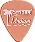 Fender California Clear Guitar Picks 12-Pack Pink Medium