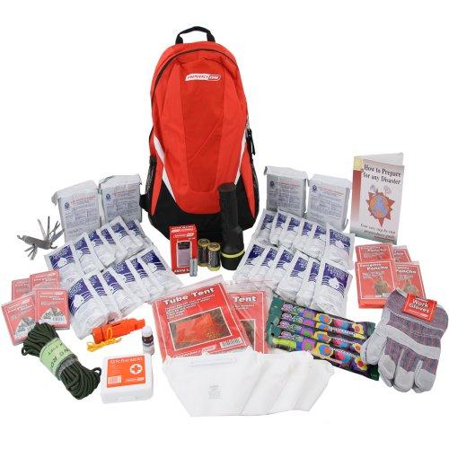 Deluxe Emergency Kit-4 Person, Emergency Zone Brand, Disaster Survival Kit, 72 Hour Kit