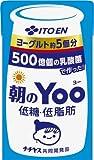 紙パック 朝のYOO 低糖低脂肪 125ml×24本