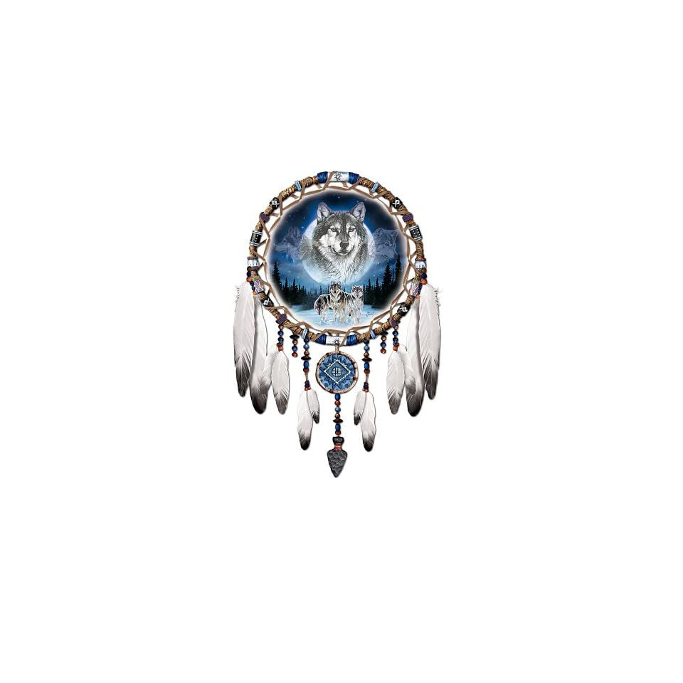 Native american style wolf art wall decor collection on for Native kitchen designs and decors photos
