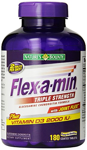 Nature's Bounty Flex-A-Min Triple Strength, 180-Count Box