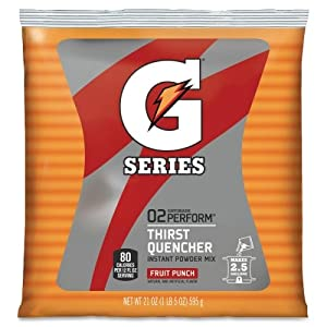 Quaker Oats Gatorade Thirst Quencher Mix Pouch , Red