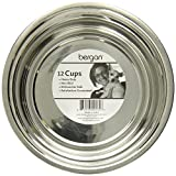 Bergan Stainless Steel Bowl, Heavy Duty Non-Skid, 12 Cup
