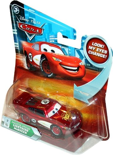 Buy Low Price Mattel RADIATOR SPRINGS LIGHTNING MCQUEEN #2 w/ Lenticular Eyes Disney / Pixar CARS 1:55 Scale Die-Cast Vehicle Figure (B003A0SOB4)