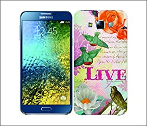 Galaxy Printed 2794 Simple Joy Live Hard Cover for Samsung GRAND I9082