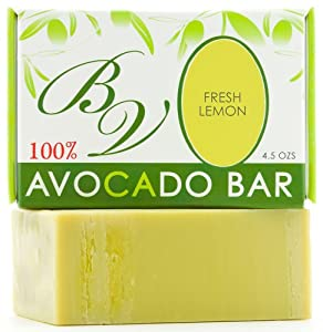 Avocado Bar Soap (Fresh Lemon)