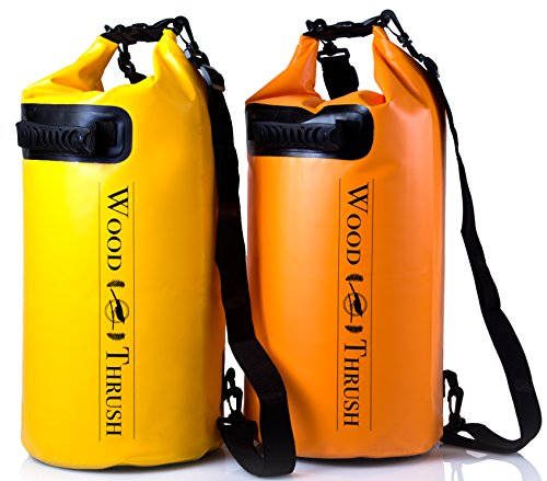 WOODTHRUSH Heavy Duty 20L Dry Bags ! Waterproof Lightweight 500D