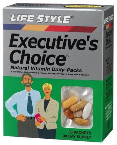 LIFE STYLE エグゼクティブチョイス ナチュラルビタミンデイリーパック 30袋