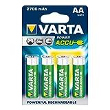 "Varta Power Accu NiMH Akku AA Mignon 2700 mAh 4er Packvon ""Varta"""