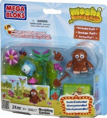 Moshi Monsters Mega Bloks Set #80617 Moshling Garden - 1