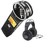 Zoom H1 2.0 Vers. Stereo Recorder + Samson SR850 Kopfhörer