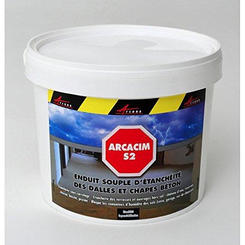 arcacim-s2-enduit-detancheite-sous-carrelage-dalle-beton-chape-resistance-pression-et-contre-pressio