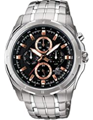 Casio Edifice Measures-Seconds Analog Black Dial Men's Watch EF-328D-1A5VDF