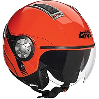 CASQUE 11.1 AIR JET RED FLUO GIVI 2015 SIZE XL