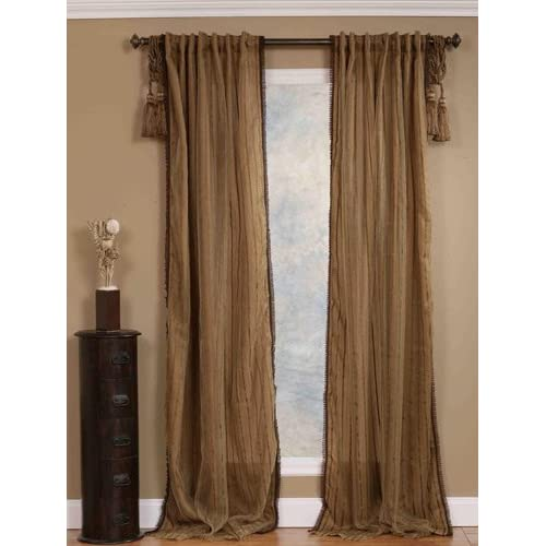 drapery curtain panel 52 inch x 96 inch
