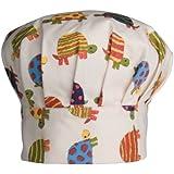 Now Designs Kid's Chef Hat, Tiny Tortoise
