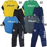 [アスレタ]ATHLETA カラーピステスーツ 02250 Oサイズ チャコール