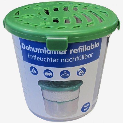 Luftentfeuchter 700ml Granulat Raumentfeuchter Feuchtigkeitskiller Dehumidifier